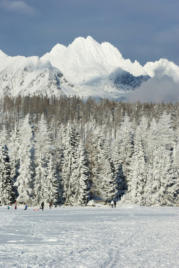 Need to visit in winter.  High Tatras, Slovakia
