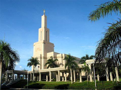 Santo Domingo Dominican Republic LDS Temple    #LDSTemple #LDSBaptism #LDS