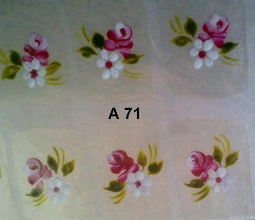 Adesivos De Unha Feito A Mao Artesanal 5 Cartelas Por 18,00