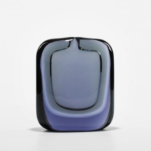 Flavio Poli, Glass Sommerso Vase for Seguso Vetri D'Arte, c1955.