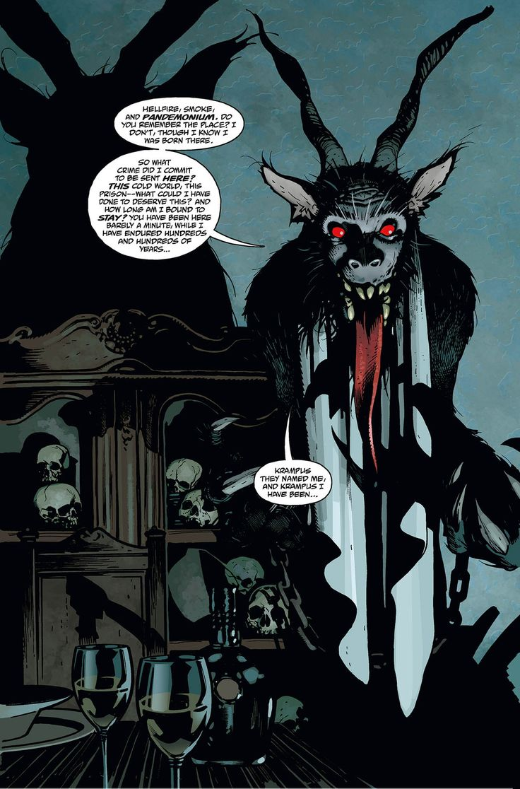 Settle In For A Spooky Yuletide – Adam Hughes Talks Hellboy: Krampusnacht – COMICON