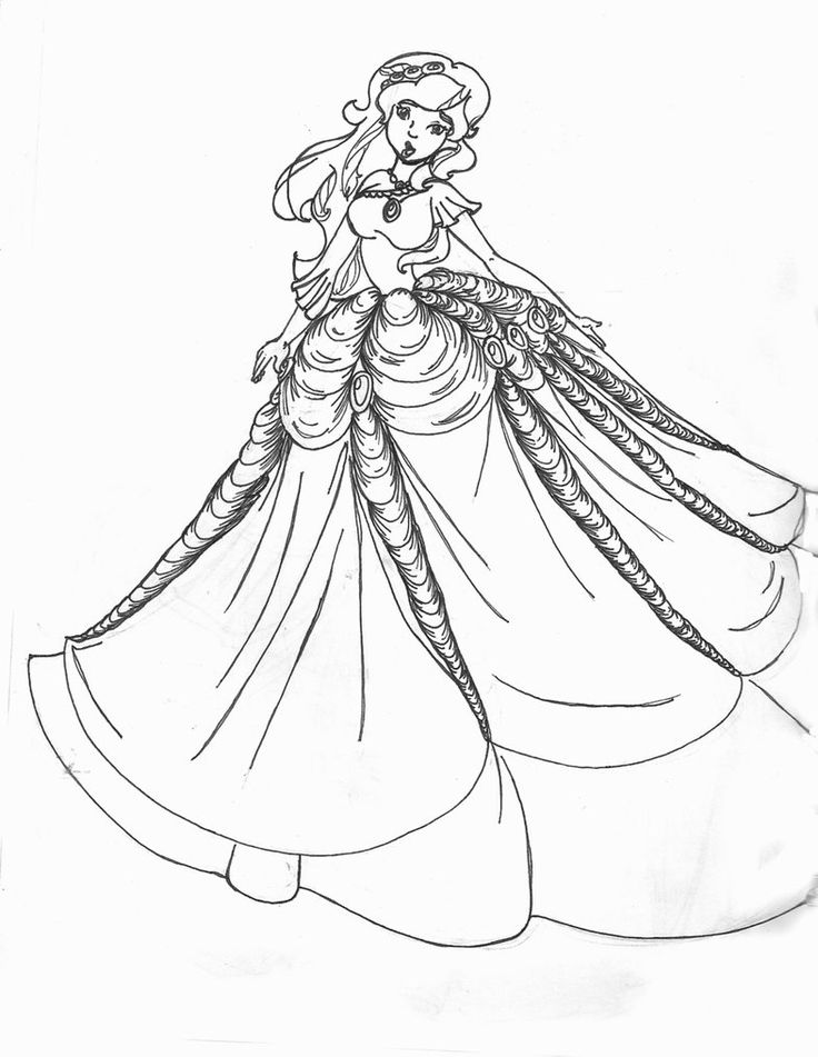 dresses coloring page 786 1016 coloring pages