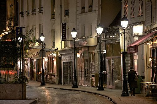 Paris at night by Nichole: Lamps Posts, Paris At Night, Midnight In Paris, Brown Bags, Paris France, Street Lamps, Things Paris, Parisians Street, Street Lights