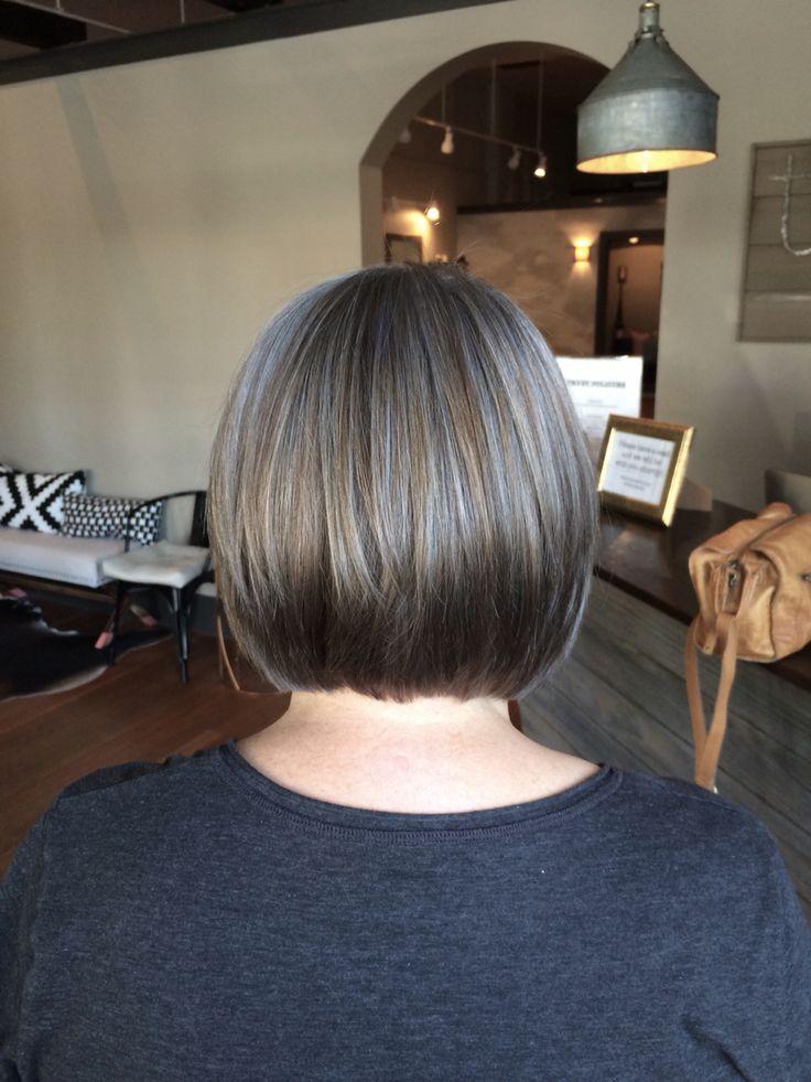 Transitioning to grey. Grey Hair.