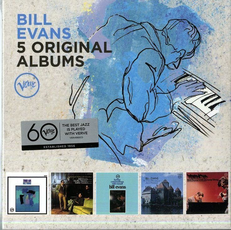 EVANS BILL - 5 ORIGINAL ALBUMS - BOX 5  CD  NUOVO http://ebay.eu/1XMc99S