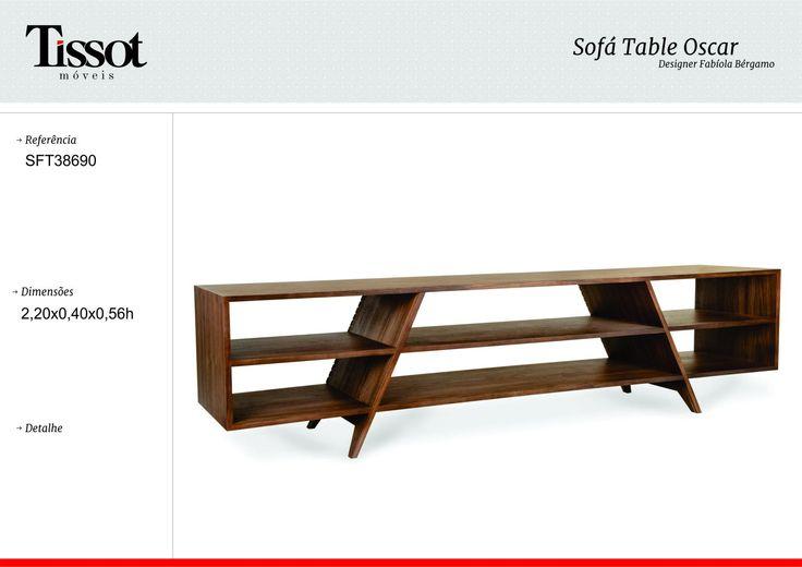 Mueble madera con estante