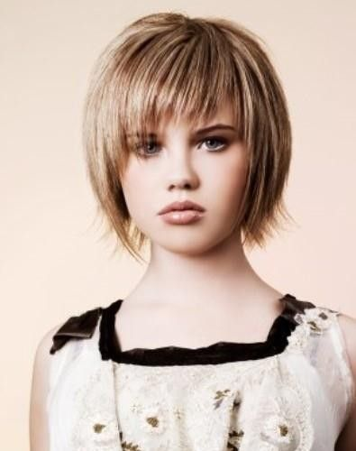 short girls haircuts | Fine Short Stacked Hairstyles 2014 Pictures| Short Hairstyles and New ...