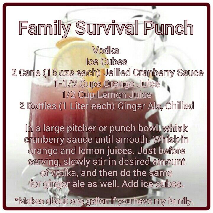 Pin by samy abbatiello on food pinterest for Thanksgiving drink recipes with alcoholic