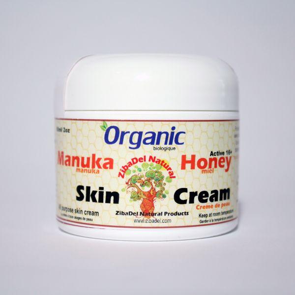 Manuka Honey Skin Cream for natural eczema healing.
