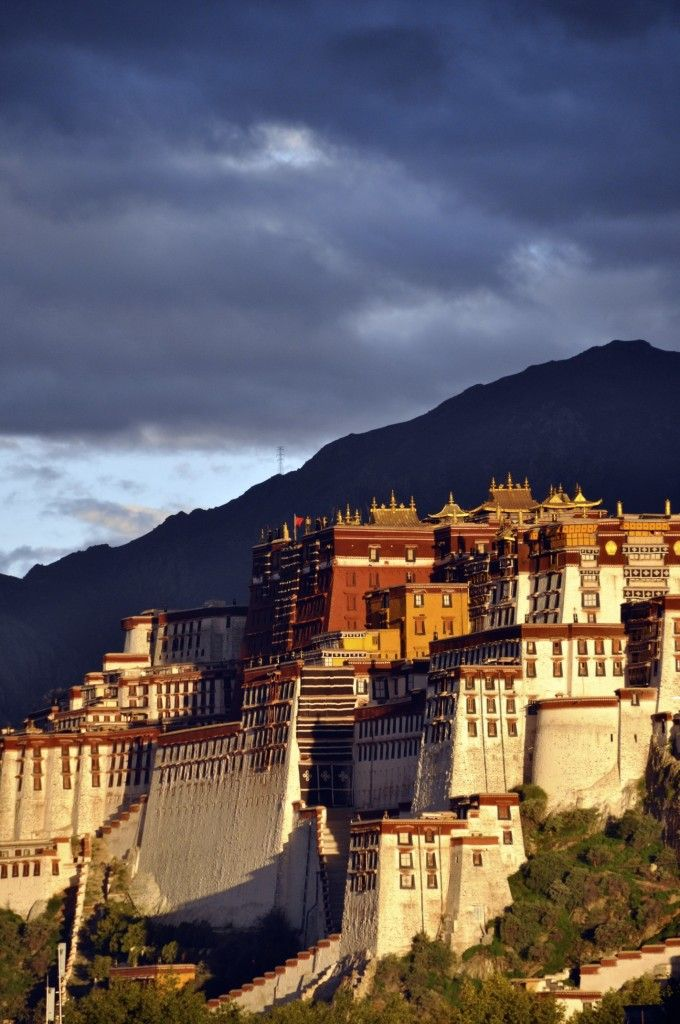 Potala Palace, Lhasa, Tibet - was the chief residence of the Dalai Lama until the 14th Dalai Lama fled to Dharamsala, India, during the 1959 Tibetan uprising.
