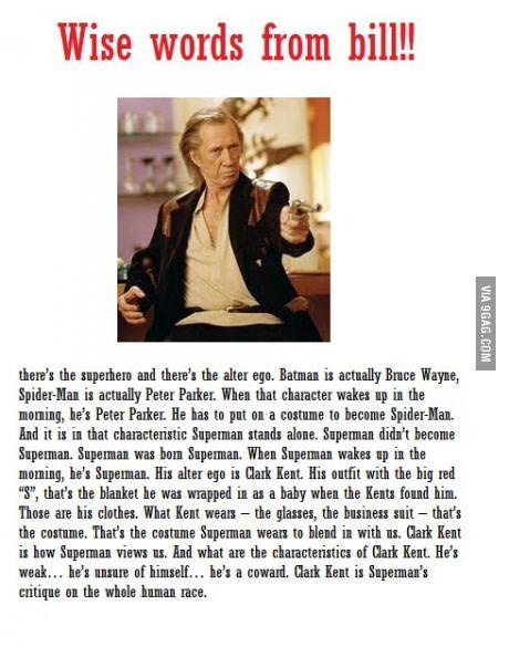 Kill Bill...Well said Bill
