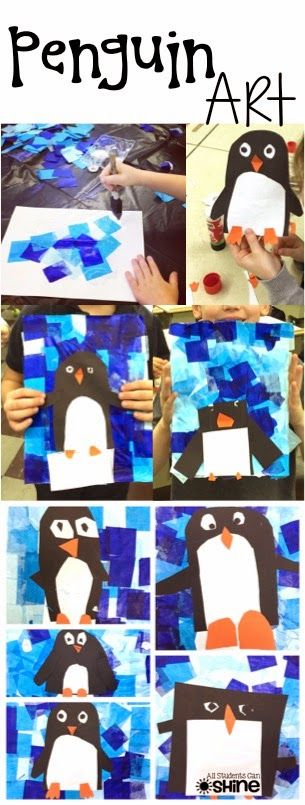 Penguins Art Project