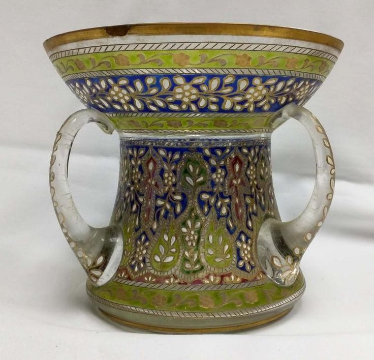 Buy online, view images and see past prices for 18th-Century Islamic Mosque Lamp With Enamels Design. Invaluable is the world's largest marketplace for art, antiques, and collectibles.