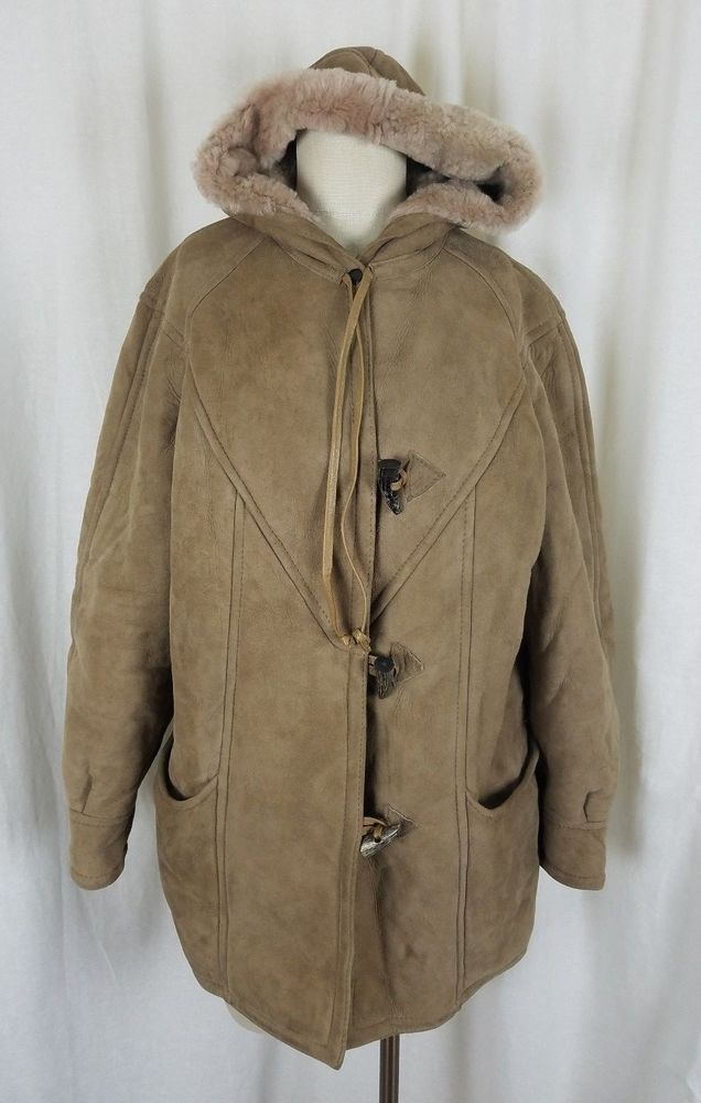 Details about Antartex Sheepskins Leather Wool Shearling