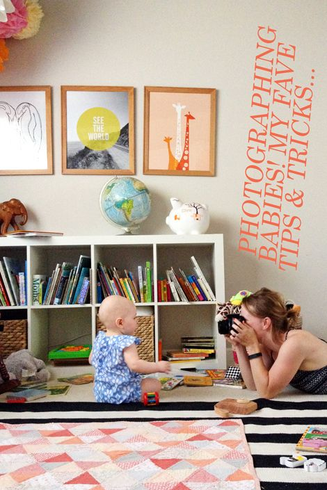 best tricks for photographing babies