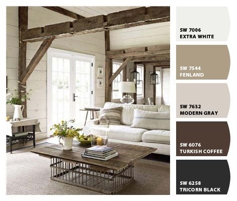 "also SW 6040 ""less brown""    - - - -Paint colors from Chip It! by Sherwin-Williams"
