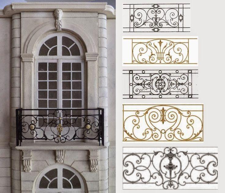 La façade avant est terminée.    Pour le garde-corps du balcon j'ai longtemps hésité sur la technique à utiliser entre métal ou car...