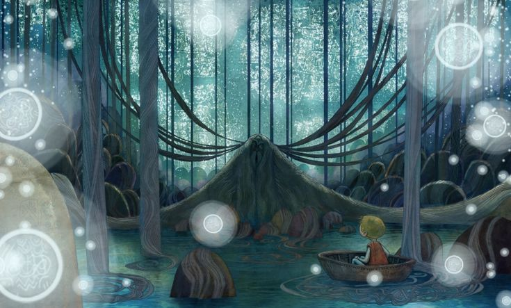 Song of the Sea concept art by Ross Stewart