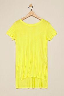 My #closet: a dress? No, a #longTshirt! Yellow asymmetric T-Shirt by @terranovastyle #summerfashion