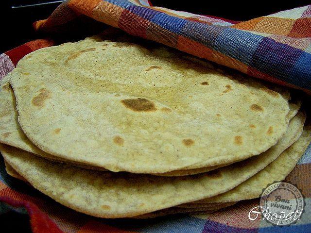 Čapati - indické placky • bonvivani.sk