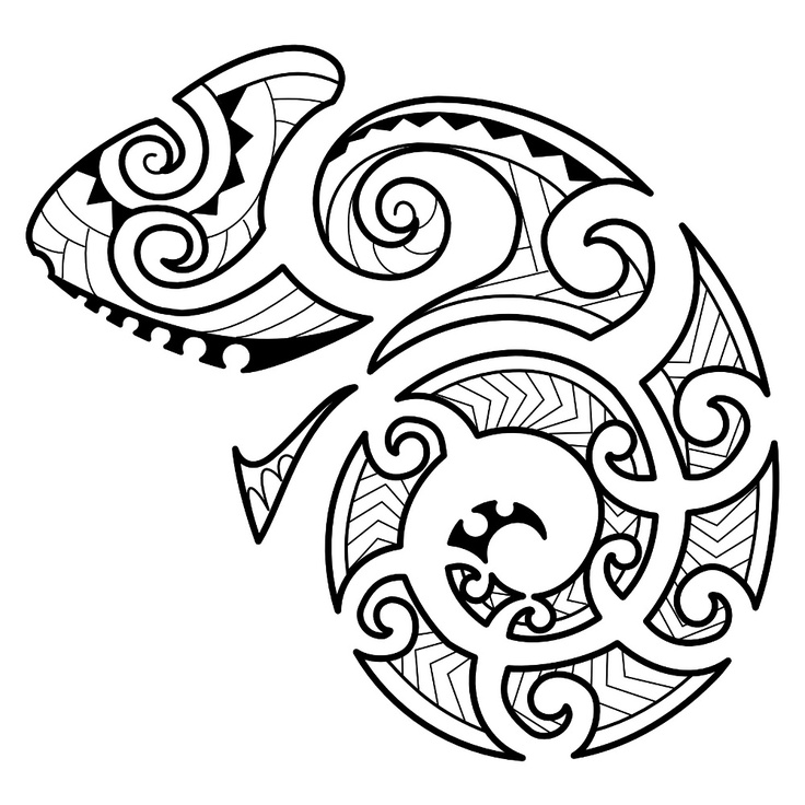 Tattoos With Meaning Of New Beginnings Maori styled tattoo of a