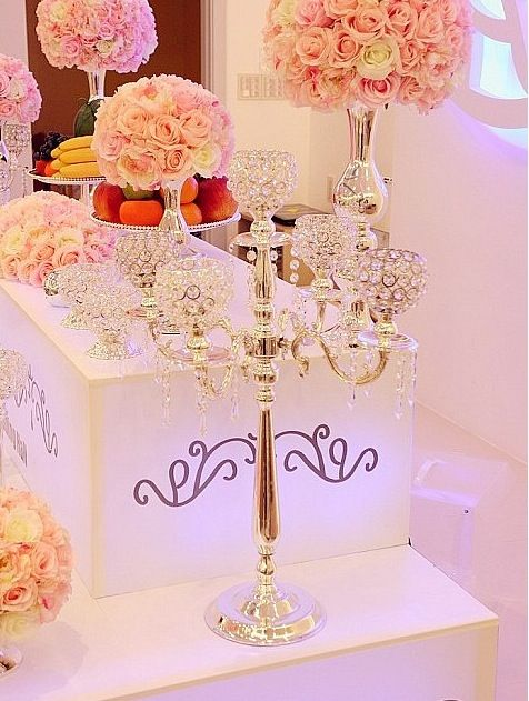 european  dinner decorate 5 branch silver gold crystal candlestick candle holder wedding event candelabra christmas  Gift -in Candle Holders from Home, Kitchen & Garden on Aliexpress.com | Alibaba Group