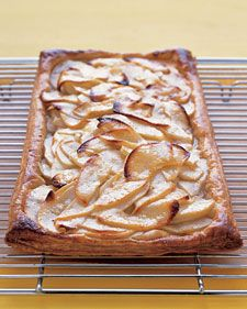Rustic Apple Tart -  added toasted almonds, almond extract and used apricot preserves instead.  Good.  Loved the almonds on it!