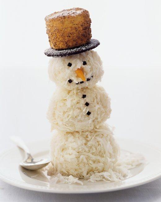 Coconut Snowmen Recipe