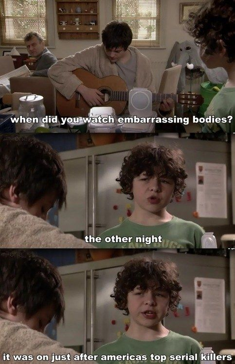 "And showed an interest in the gross and morbid. | 19 Times Ben From ""Outnumbered"" Gave Absolutely Zero Fucks"