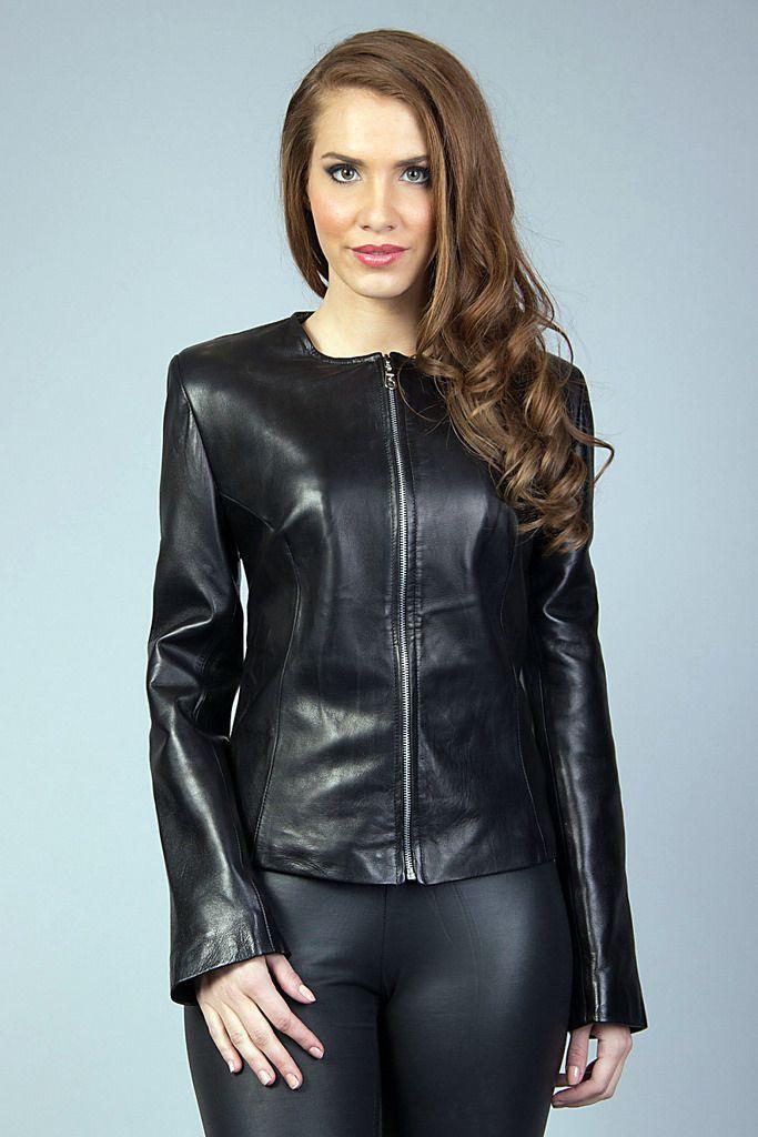 Fetish leather jacket