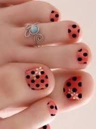 love toe nail art - Google Search