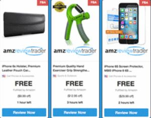 """Get Your Free Products From Amazon.com Through Amz Review Trader - Here it is! Free samples of your favorite products from Amazon.com. By entering your email address and clicking the """"submit"""" button on this page, you'll be able to review a series of offers and then choose as many free samples as you like. There is no purchase necessary. Enjoy your free products from Amazon.com! Click here to claim them now."""