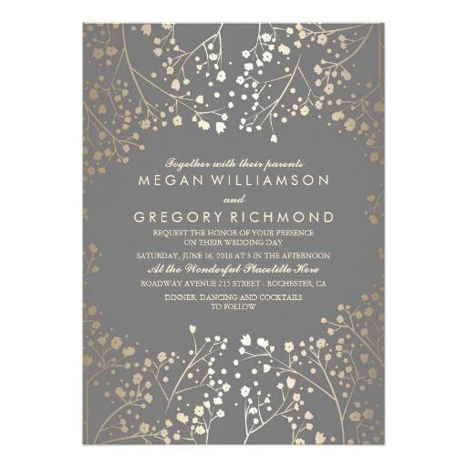 1000+ ideas about Grey Wedding Invitations on Pinterest | Gray ...