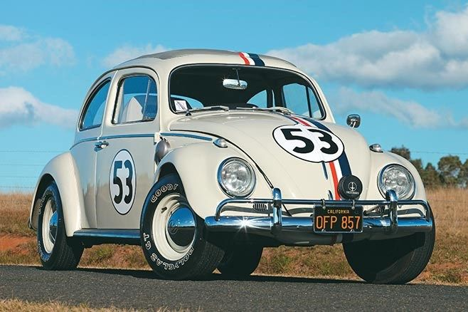 This authentic Herbie is a mix of mechanical and styling cues from the 'Goes To Monte Carlo' and 'Goes Bananas' films