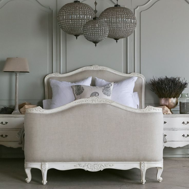Eloquence Sophia Antique White Bed 3630 To 4290 Dollars