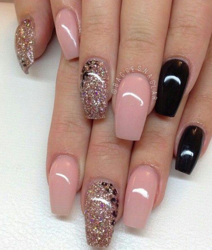 best 25 pink black nails ideas on pinterest black nail