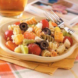 Italian Dressing Pasta Salad