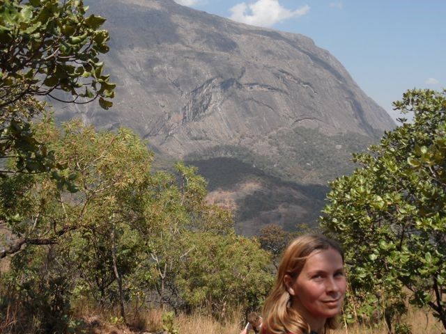 When climbing to the plateau look up for inspiration. #Mulanje #LichenyaPlateau behind.