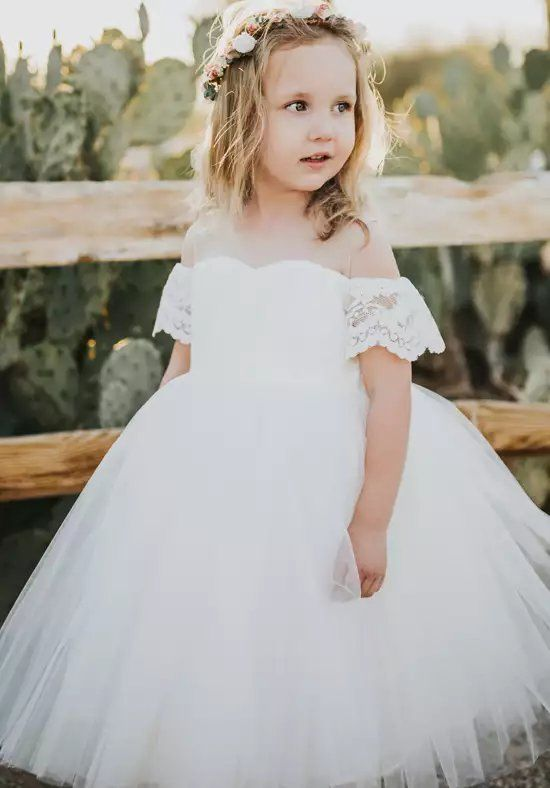 5ac3a58693e FATTIEPIE Harper Ivory Flower Girl Dress