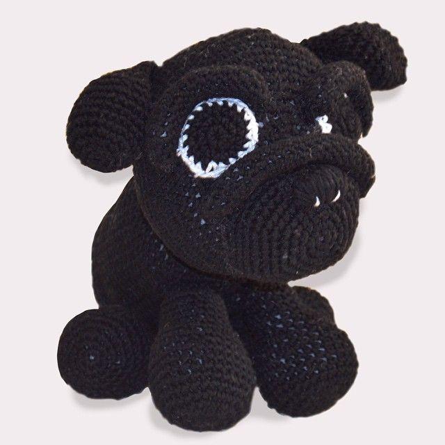 Pug entregado! #pug #amigurumi #crochet #handmade