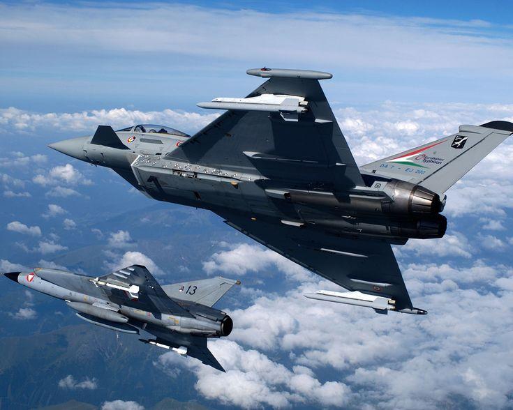 Eurofighter and Draken