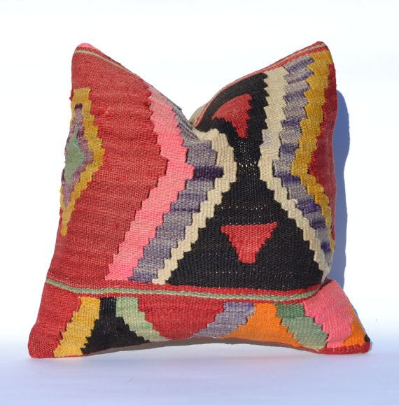 Hey, I found this really awesome Etsy listing at https://www.etsy.com/listing/183778487/decorative-throw-pillow-kilim-pillow