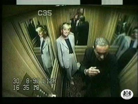 Princess Diana - Final Day CCTV - Raw Footage - YouTube