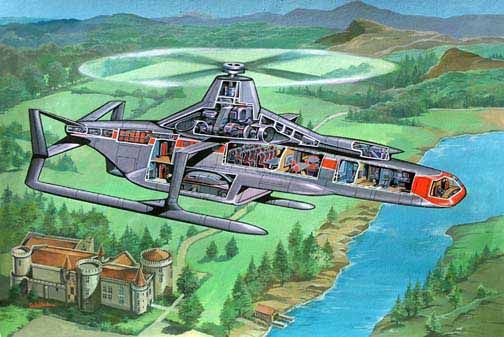 Thunderbirds Magnacopter