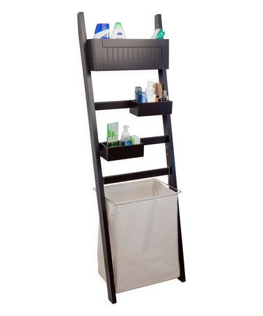 Loving this Leaning Bath Organizer & Hamper on #zulily! #zulilyfinds