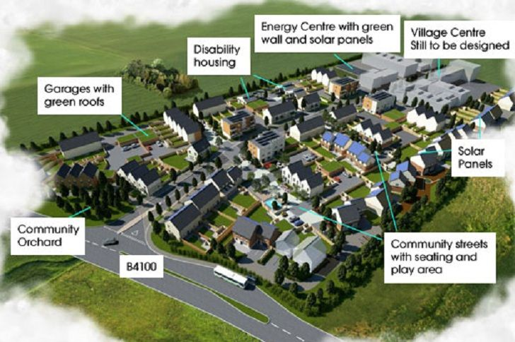 North West Bicester eco-town is the UK's first zero carbon com...