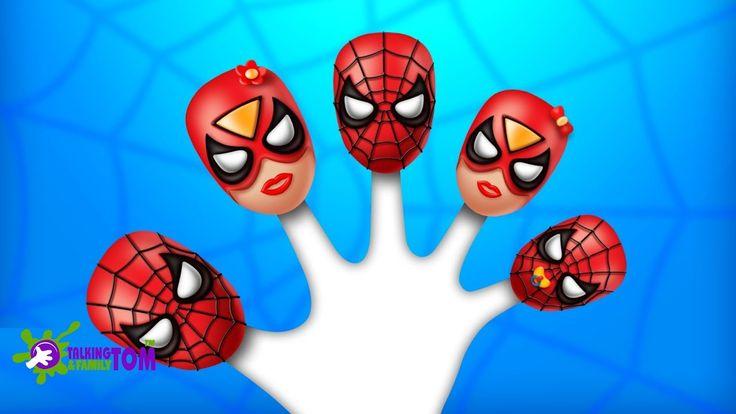 Spiderman Finger Family Songs | Top 10 Finger Family Collection | Nurser...