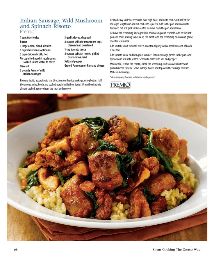 ... Risotto, Paella on Pinterest | Paella, Italian sausages and Rice pilaf