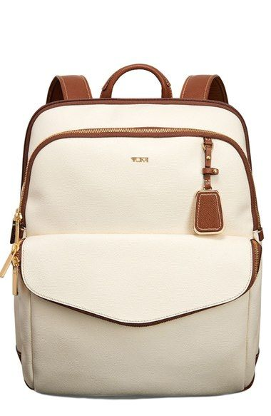 Tumi 'Sinclair Harlow' Coated Canvas Laptop Backpack available at #Nordstrom