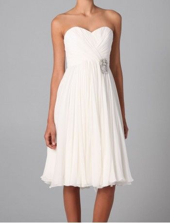 Tea Length Informal Wedding Dresses | Stylish Reception Dresses, Beautiful Wedding Reception Dresses ...